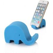 Sketchfab Elephant Design Mobile Holder For Smartphone Tablet - Blue