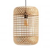 LA REDOUTE INTERIEURS Hängeleuchtenschirm Cordo aus Bambus, Höhe 46 cm