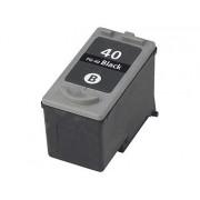 Recycled Cartridge f.CANON (ersetzt PG-40/50), black HC 26ml | Druckerpatrone