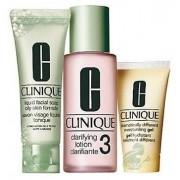 Clinique Zestaw 3-Step Skin Care System 3 Zestaw 3 kroków do skóry mieszanej i tłustej