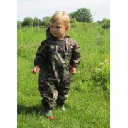Muddy Buddy All in one Rainsuit Coverall Camouflage 12mths / 9kg TUFFO