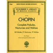 Frederic Chopin - Complete Preludes, Nocturnes and Waltzes(Paperback) (9780634099205)
