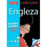 Larousse Engleza - Metoda rapida. Carte + 2xCD