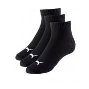 PUMA Quarter Socks 3 Pack Black