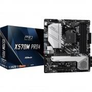 ASRock X570M Pro4 matična ploča Baza AMD AM4 Faktor oblika Micro-ATX Set čipova matične ploče AMD® X570