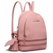 Roztomilý růžový designový dámský batůžek Miss Lulu