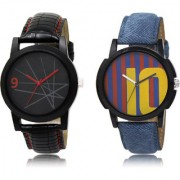The Shopoholic Black Blue Maroon Combo New Collection Black And Blue And Maroon Dial Analog Watch For Boys Watches In Girls