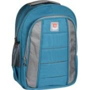 Classic Polyester School Bag  Shoulder Backpacks 36 L Laptop Backpack(Blue)