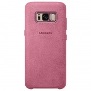 Samsung Galaxy S8+ Alcantara Cover EF-XG955AP - Pink