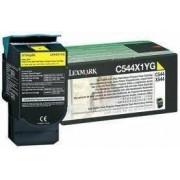 Lexmark C544X1YG toner amarillo
