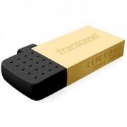 Флаш памет Transcend 32GB JetFlash 380, Gold Plating - TS32GJF380G