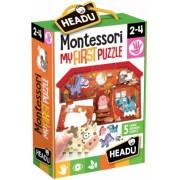 Montessori Primul Meu Puzzle - Ferma Headu
