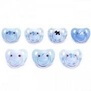 Бебешка силиконова залъгалка Evolution - синя, Suavinex, 254044