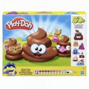 Set pasta modelabila Play-Doh Monstruletii din toaleta 12 culori