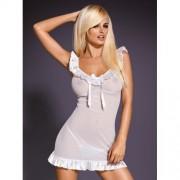 Camisa de Noite & Tanga Electra II Branca