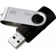 Stick USB GOODRAM UTS3, 32GB, USB 3.0 (Negru)