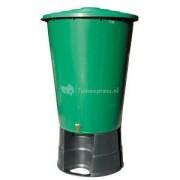 ACD kunststof regenton 200 liter groen