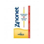 Uniderm Farmaceutici Srl Uniderm Anonet Cofanetto Detergente Intimo 150ml + Salviette Intime 15 Pezzi