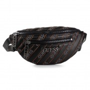 Чанта за кръст GUESS - Ronnie (GM) Mini HWGM74 45800 BLA