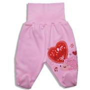 Polodupačky pre bábätká - MUMMY, ružové veľkosť: 56