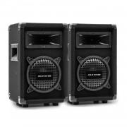"Auna Pro PW-0822 MKII, чифт пасивни PA двупосочни високоговорители, 8 ""субуфер, 150 W RMS (35009x2)"