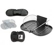 EXCELLENT Odkapávač na nádobí skládací plast/chrom