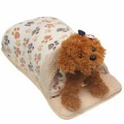 Pet Dog Cat Bed Puppy Cotton Pet Nest Sleeping Warm Cushion Pad House Hut Basket Kennel Sofa Pet Bed