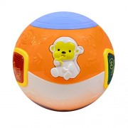 Motorized Move and Crawl Musical Ball – Helps Baby in Crawling