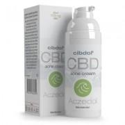 Cibdol Crème au CBD pour l'acné Aczédol de Cibdol