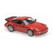 PORSCHE 911 TURBO 964 - 1990-RED 1 43