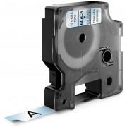 Dymo Standard D1 Tejp 12mm Svart på transparent