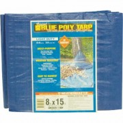 Dize Blue Poly Tarp - 8ft. x 15ft., Model PT0815