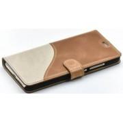 Husa Flip Tellur Huawei Nova Piele Maro-Alb