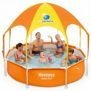 Bestway Piscină de joacă Splash-in-Shade, 244 x 51 cm, 56432