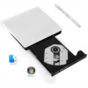 CD DVD ROM Para Windows Mac OS, Accesorios De Computadora (blanco)