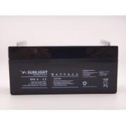 Sunlight 6V 3.2Ah baterie AGM VRLA SPA 6 - 3.2