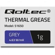 Pasta termoconductoare , Qoltec , 4.63 W/m/K , 1g , gri