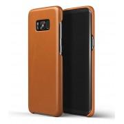 Mujjo Smartphone covers Leather Case Galaxy S8+ Bruin