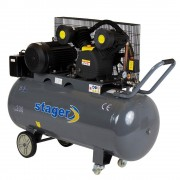 Compresor Stager HM-V-0.6/200, 200l, 8bar, 400 V, 4.1 kW