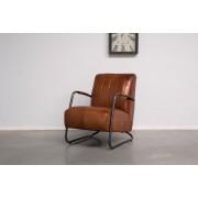 Simone Albani Living Excellence Station7 - Industriële fauteuil Guuz-man Leer -