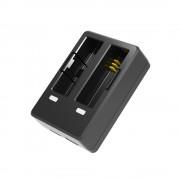 SJCAM SJ7 Star DUAL töltő bölcső USB kábellel, két akkuhoz
