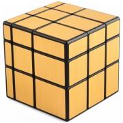 3X3 Cubo Magico Bloques De Espejo QiYi - Wiredrawing Dorado