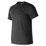 ニューバランス newbalance ヘザーテックショートスリーブTシャツ メンズ > アパレル > トレーニング > トップス ブラック・黒