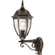 Kültéri fali lámpa mozgásérzékelővel antik arany Toronto 8380 Rábalux