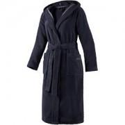 JOOP! Albornoces Mujer Albornoz con capucha azul Talla 48 / 50 1 Stk.