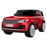 Range Rover 250/1 Licencirani Dvosed sa kožnim sedištima i mekim gumama - Metalik crveni