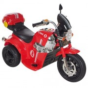 GetBest Samurai MD- 1188 Battery Operated Ride on Bike for Kids, Red