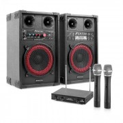 Electronic-Star Караоке комплект STAR-Mitte, високоговорители, микрофон, 400 W (PL-6521-2233)