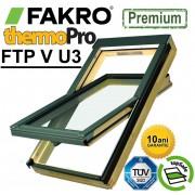 Fereastra mansarda + rama Fakro premium FTP-V U3