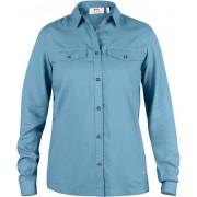 FjallRaven Abisko Vent Shirt LS W. - Bluebird - Shirts S
